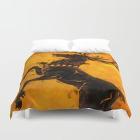 stag Duvet Covers featuring Stag by Narwen