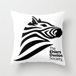 Ehlers-Danlos Society - Big Logo Throw Pillow