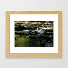 Silver Creek Long Exposure Framed Art Print