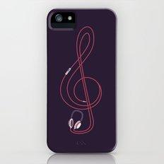 listen to my music Slim Case iPhone (5, 5s)