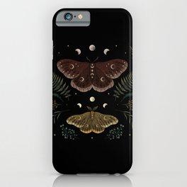 Saturnia Pavonia iPhone Case