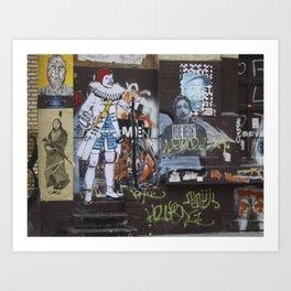 NYC Joker Art Print