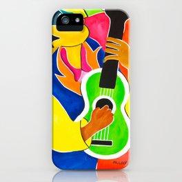 Blues Man iPhone Case