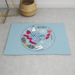 Winter Wonderland Fun Rug