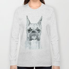 The Boxer Dog Miley Long Sleeve T-shirt