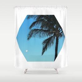 Moonpalm Shower Curtain