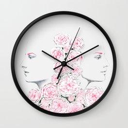 Twins 2 Wall Clock