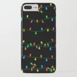 Christmas lights collection iPhone Case