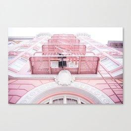 Downtown San Francisco Color Canvas Print