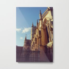 King's College Chapel, Cambridge Metal Print