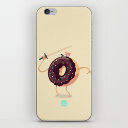 Baked to Rule iPhone Skin