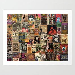 Rock'n Roll Stories Art Print