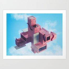 Multidirectional Art Print