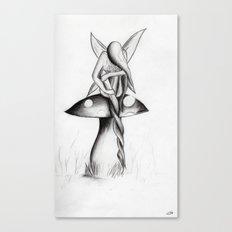 The Twist Canvas Print