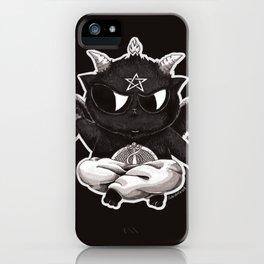 Black Cathomet iPhone Case