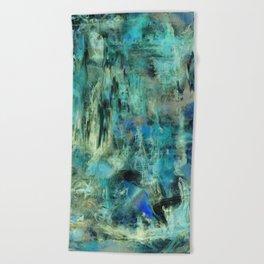 Ice Emerald Bog Beach Towel