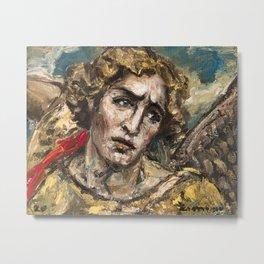 Saint Michael Archangel. Who is like God? Metal Print