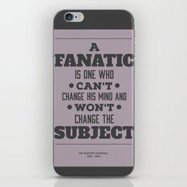 Fanatic iPhone Skin