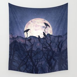 Midnight Chorus Wall Tapestry