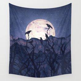 Midnight Chorus Wall Tapestry