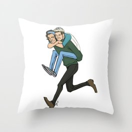 Harry and Niall Throw Pillow
