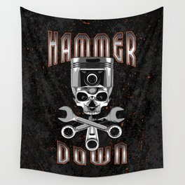 Hammer Down Wall Tapestry
