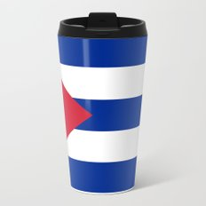 National flag of Cuba - Authentic version Travel Mug