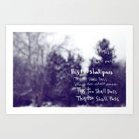 """This Too Shall Pass"" Art Print"
