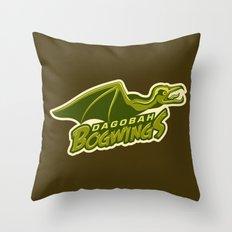 Dagobah Bogwings Throw Pillow