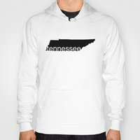 tennessee Hoodies featuring Tennessee by Isabel Moreno-Garcia