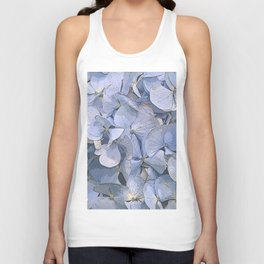 Blue Hydrangeas Unisex Tank Top