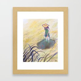 Once upon a Pond Framed Art Print