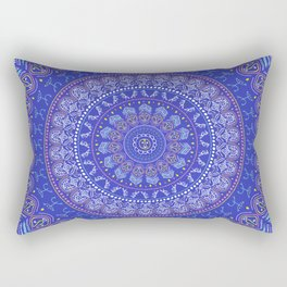 Taino Mandala Rectangular Pillow