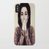 bjork iPhone & iPod Cases featuring Mommie Bjork by Wanker & Wanker