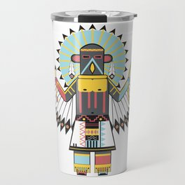 Eagle Kachina Travel Mug