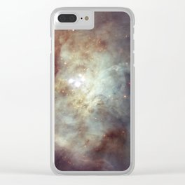 Orion Nebula 2 Clear iPhone Case