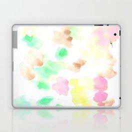 170322 Soft Pastel Watercolour 9  |Modern Watercolor Art | Abstract Watercolors Laptop & iPad Skin