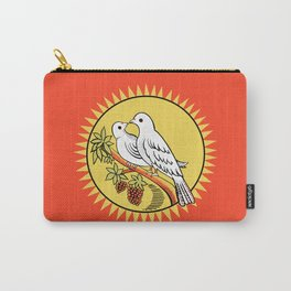 The Love Birds Vintage Matchbox Carry-All Pouch