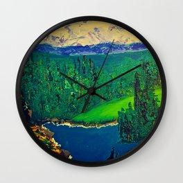 Beautiful British Columbia Wall Clock
