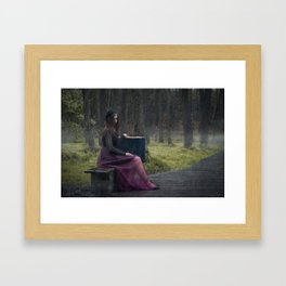 No home for me Framed Art Print