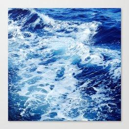 Deep Blue Sea Canvas Print