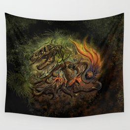 Extinction Chaos Wall Tapestry