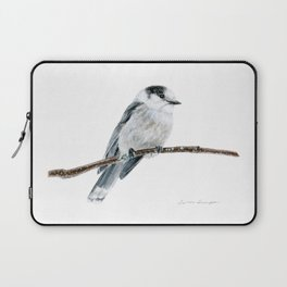 Gray Jay by Teresa Thompson Laptop Sleeve