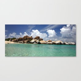 The virgin gorda.  Canvas Print