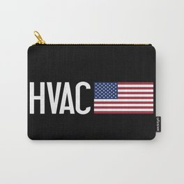 HVAC: HVAC & American Flag Carry-All Pouch