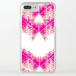 Bright urban texture pattern Clear iPhone Case