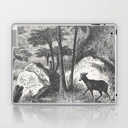 Deer and Fern Laptop & iPad Skin