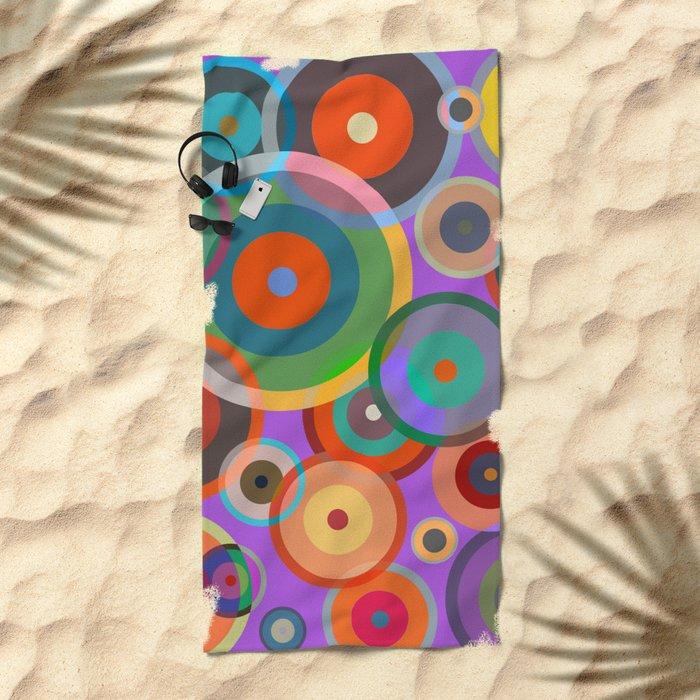 Kandinsky #4 Beach Towel