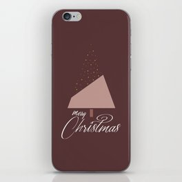 Plum Xmas #society6 #plum #xmas iPhone Skin