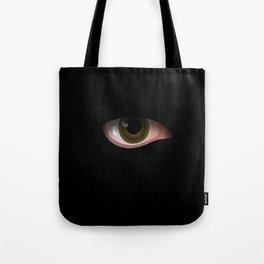 Eye in Black Tote Bag